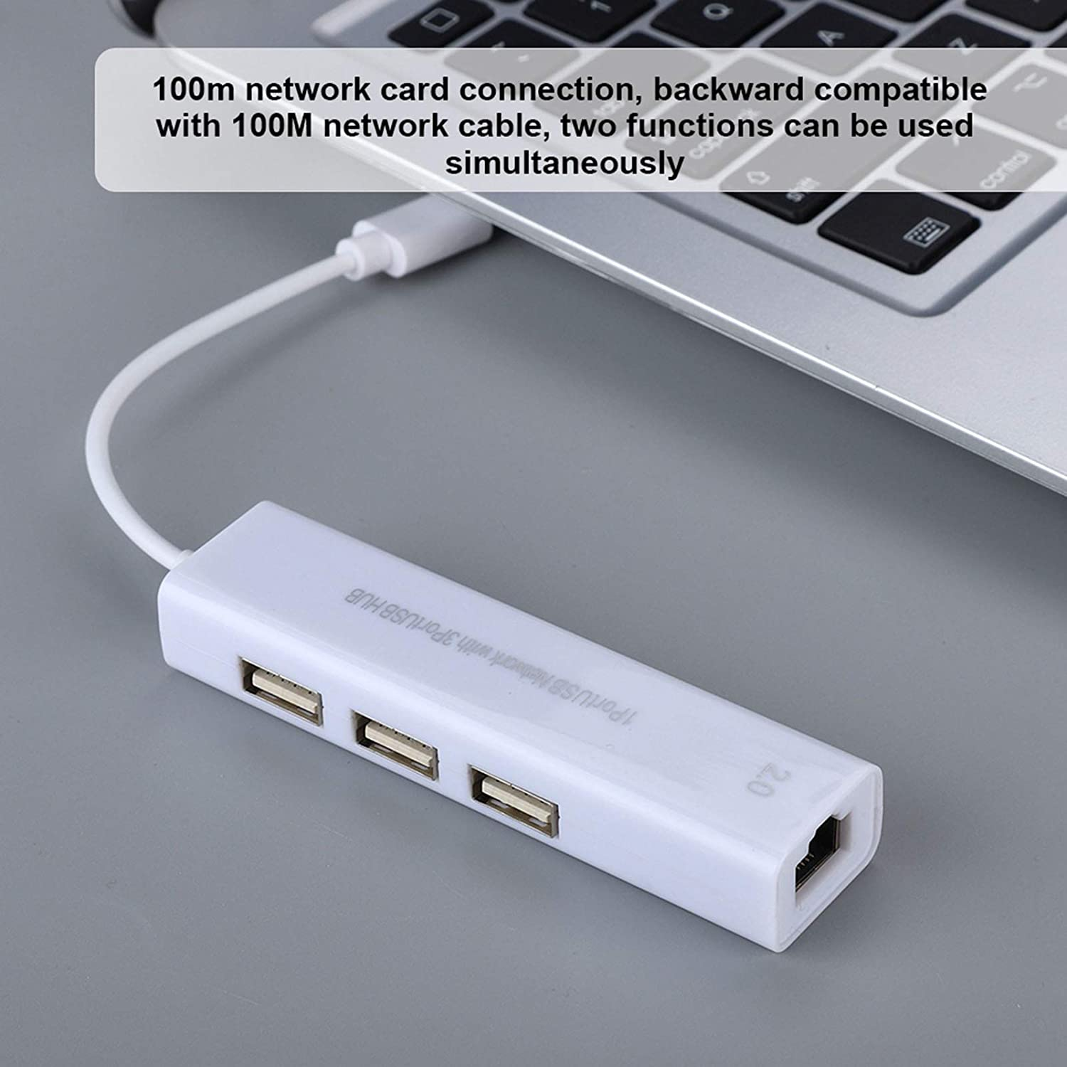 Demeras 100M 10Gbps USB Hub Mini 22cm USB 2.0 Transfer Cable for Computer for Laptop