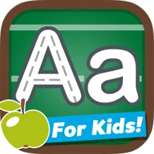 Letters and Number Trace Game - Learn how to write the alphabet and numbers for kids