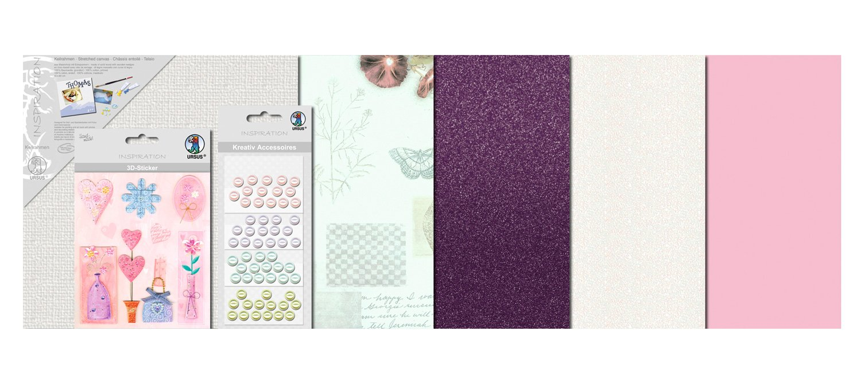 Bastidor Material Decorativo Ursus Scrapbooking en Bastidor E Instrucciones