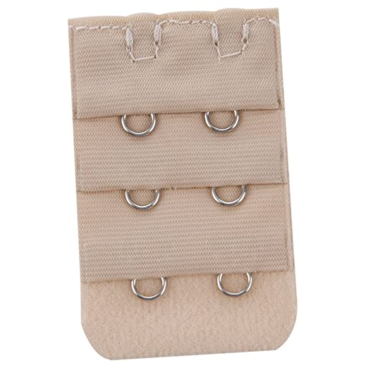 0d3bd8ea28627 Image Unavailable. Image not available for. Color  SODIAL(R) 3pcs Lady 3Row 2  Hook Adjustable Underwear Bra Strap Extension Buckle Hooks
