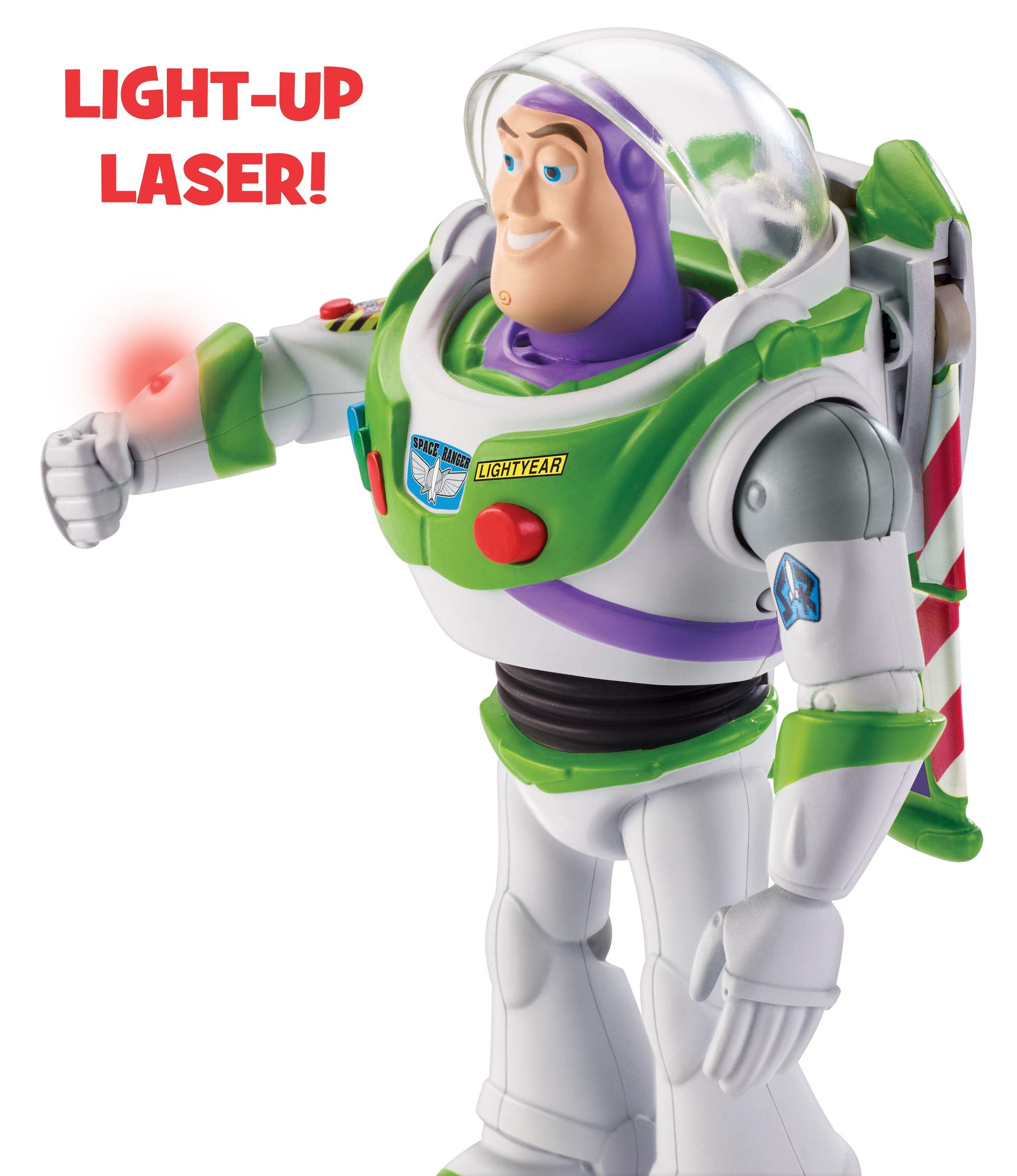 Disney Pixar Toy Story Ultimate Walking Buzz Lightyear, 7'' by Toy Story (Image #4)