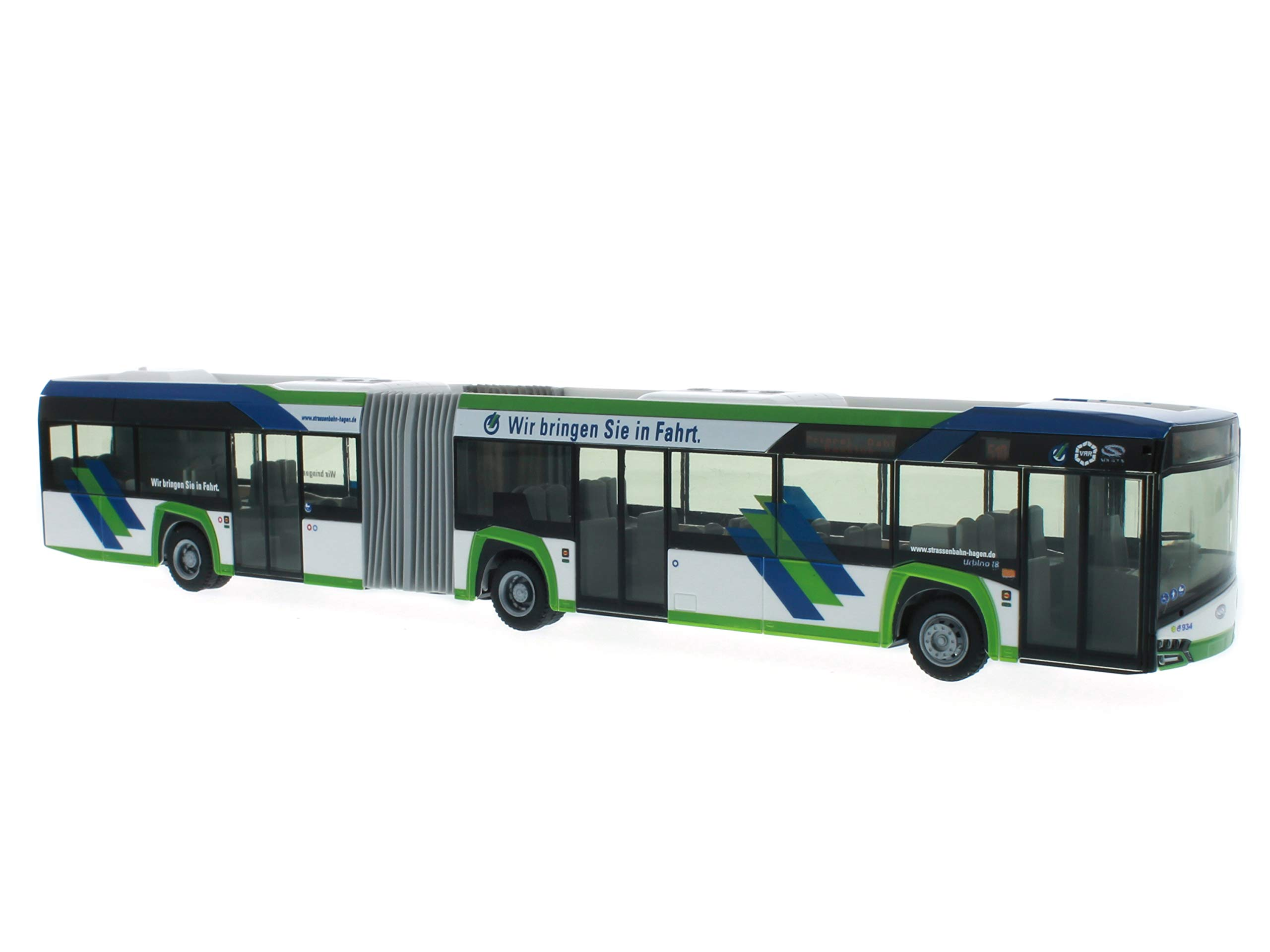 Reitze 73113 Rietze Solaris Urbino 18'14 Hagener Tram Scale 1:87 H0, Multi Colour