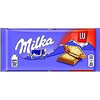 Milka Tableta de Chocolate con Galleta Lu