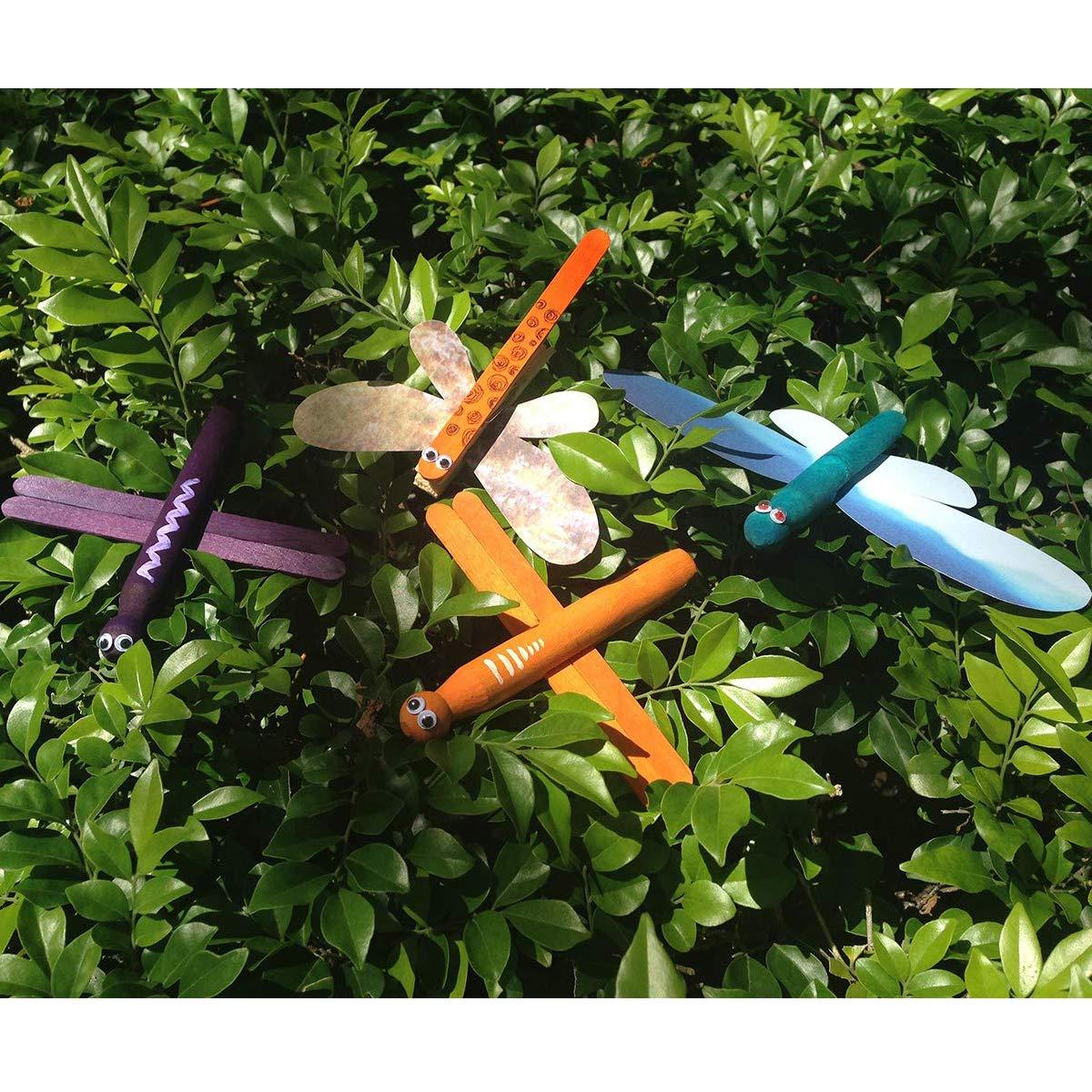 Plastica Wobbly Occhi Wiggle Adesivi per Pupazzi DIY Scrapbooking Artigianato Accessori Giocattolo Circa 1100 pz Assortite Taglie Googly Occhi Autoadesive 5-25mm OOTSR