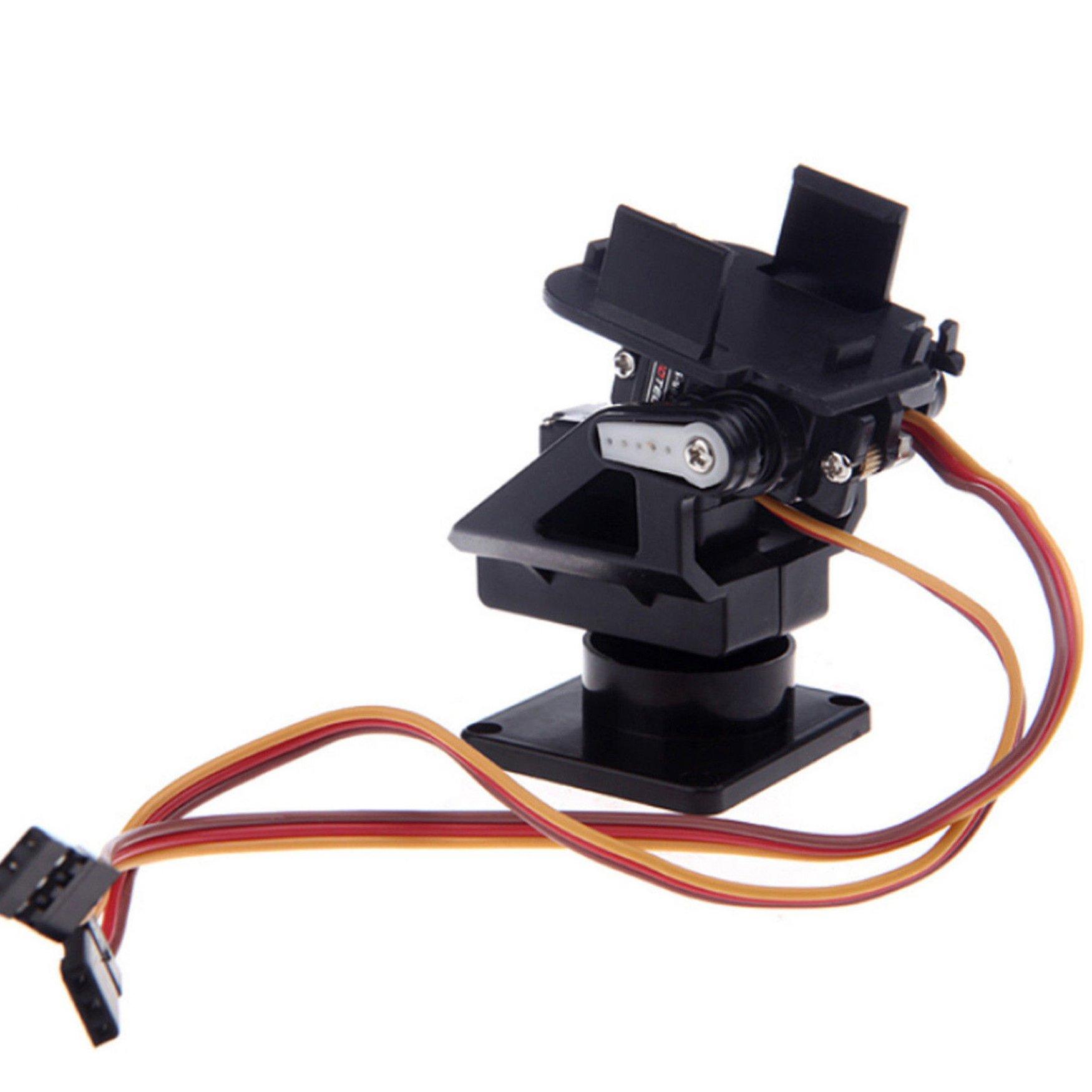 Pan Tilt Servo Gimbal for FPV Drone Board Cameras - Includes 2x 9g Servo