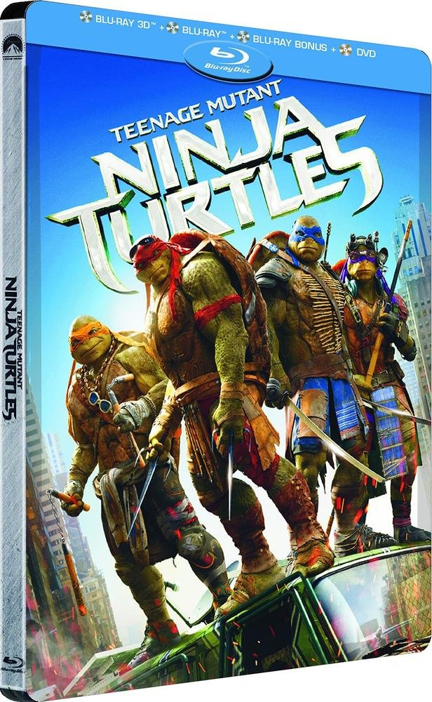 Steelbook Teenage Mutant Ninja Turtles Edition limitée Combo ...