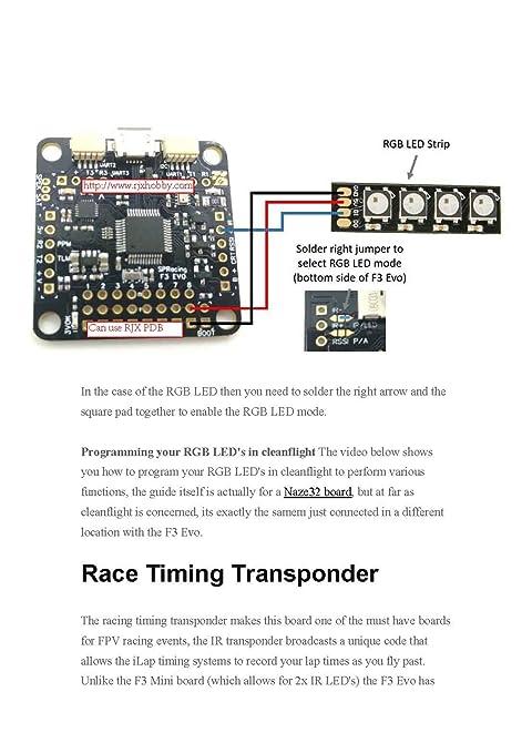 71BVzKqZhZL._SY679_ amazon com rjxhobby sp racing f3 evo betaflight flight controller FPV Wiring Diagram for 600mW 5.8 Transmitter at readyjetset.co