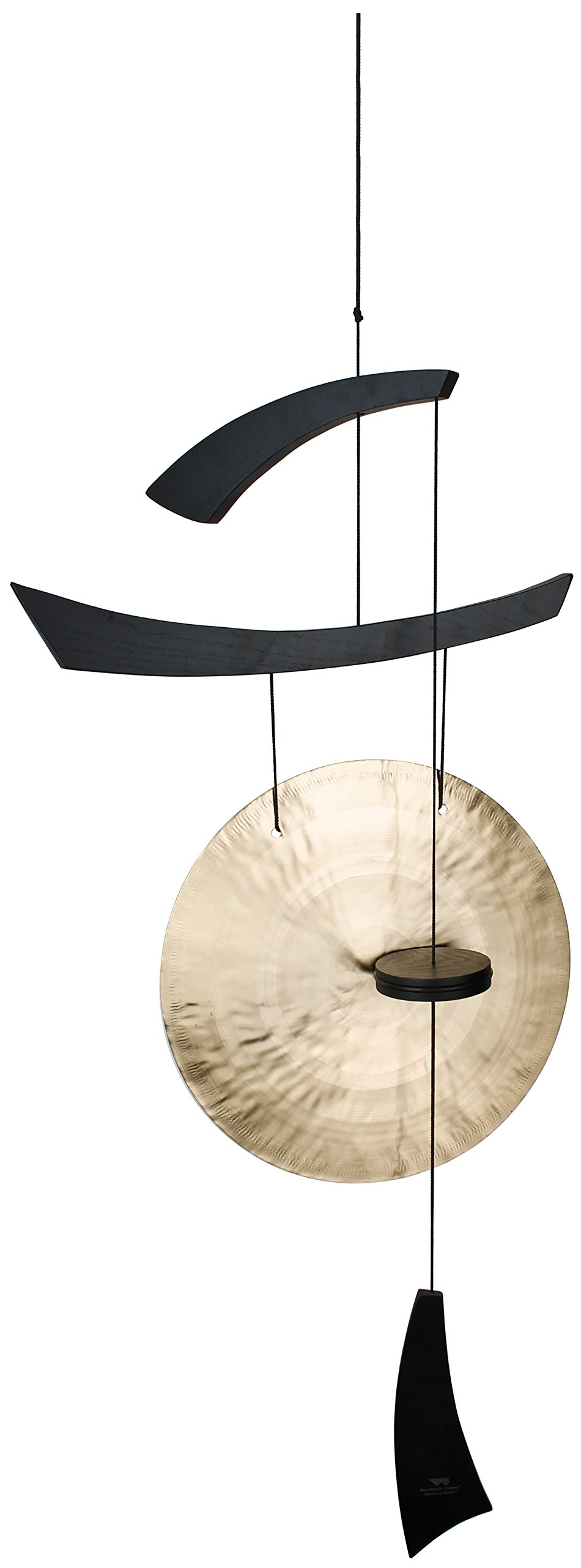 Woodstock Large Emperor Gong, Black by Woodstock Chimes