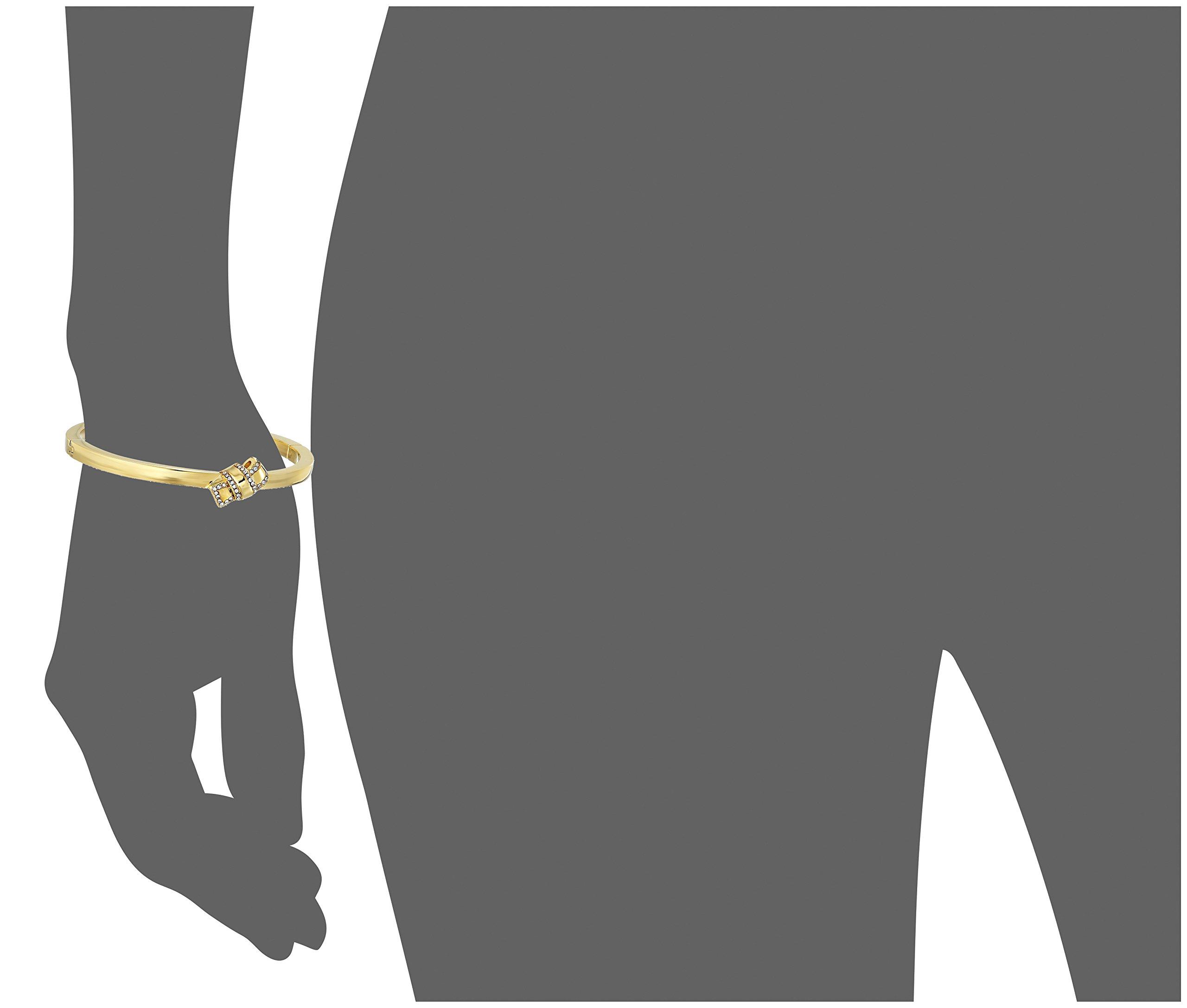Kate Spade New York Pave Knot Hinged Gold Bangle Bracelet by Kate Spade New York (Image #2)