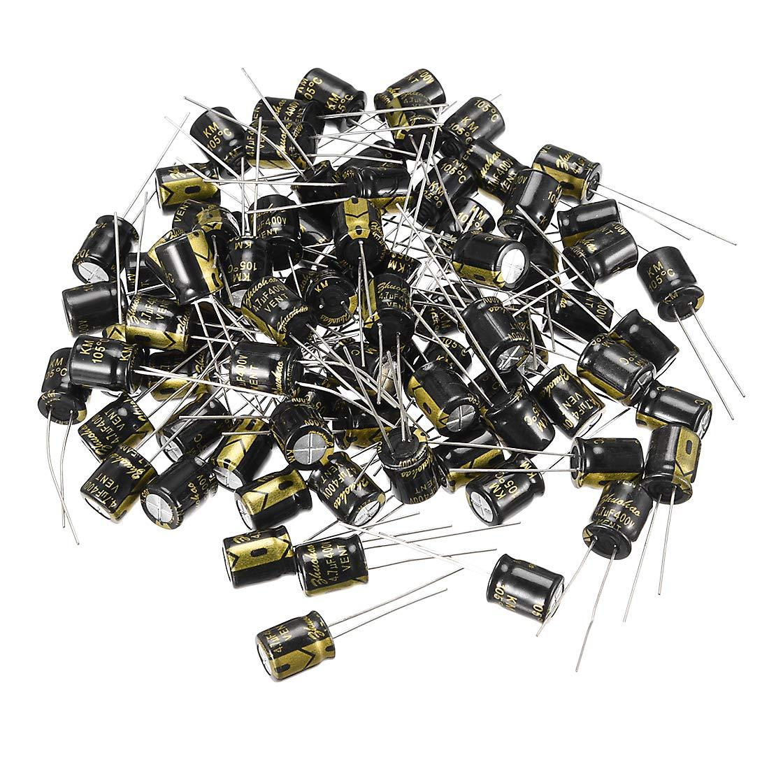 10 x 1000uF 10V 105C radiale condensatore elettrolitico 8x11mm SODIAL R