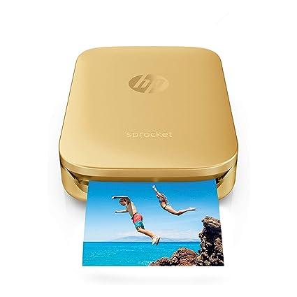 HP - Impresora fotográfica (Zink (Zero Ink), 313 x 400 dpi ...