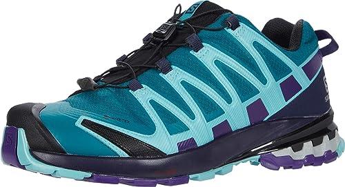 Salomon XA Pro 3D v8 GTX W, Zapatillas de Trail Running para Mujer, Verde (Shaded Spruce/Evening Blue/Meadowbrook), 42 EU: Amazon.es: Zapatos y complementos