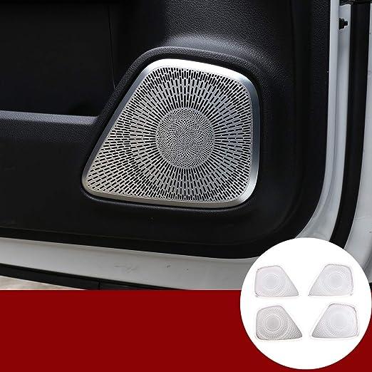 Aluminiumlegierung Autotür Lautsprecher Abdeckung Aufkleber Zubehör Für Benz A B Glb Klasse W177 W247 X247 2019 2020 Auto