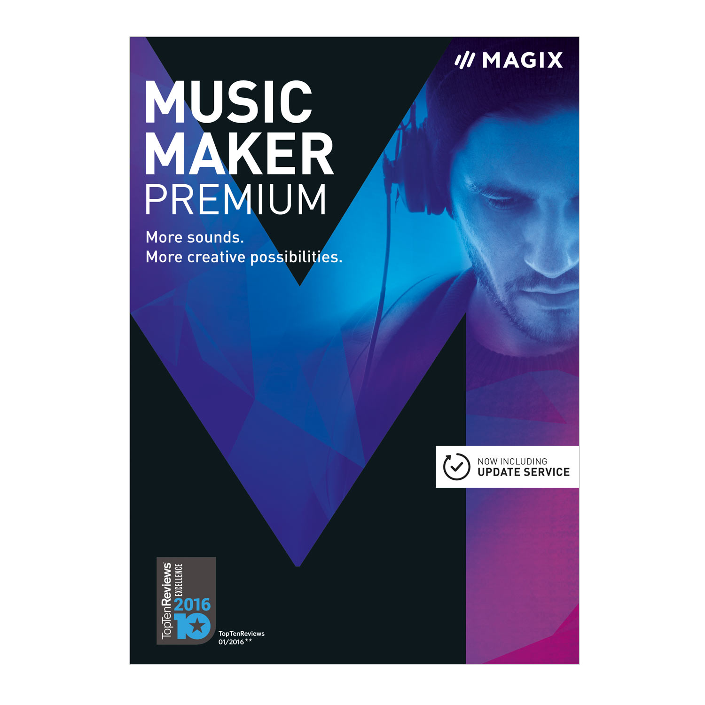 MAGIX Music Maker 2017 Premium [Download] by MAGIX
