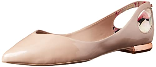 7e25bf18e0c2b Ted Baker London Women s Dabih Ballet Flat  Amazon.co.uk  Shoes   Bags