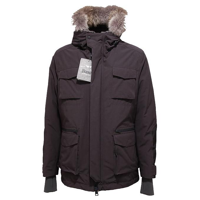 4802R giubbotto uomo HERNO EXPEDITION grigio jacket men  54   Amazon.it   Abbigliamento 7695c9b4869