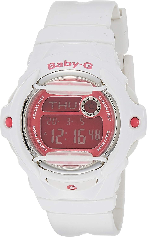 Casio Baby-G BG169R-7E Semi-Transparent Women's Sports Watch Purple Clear