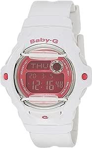 Casio Baby G Women BG169R-7E Year-Round Digital Automatic White Watch