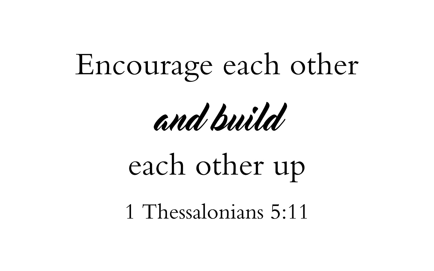 Image result for First Thessalonians 5:11