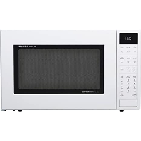 Amazon Com Sharp Smc1585bw 1 5 Cu Ft Microwave Oven With