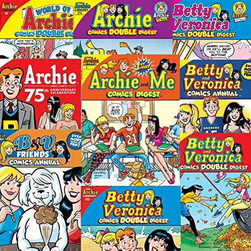 Archie Comics Digest Value Pack (Includes 10 books) from Archie Comics