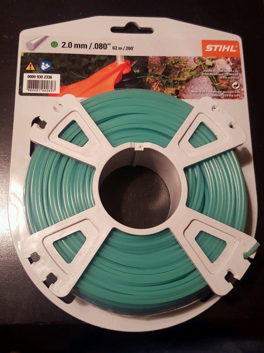 Stihl Césped trimmer1 Unidades, 9302335, 2,0 mm x 15,3 m grün ...