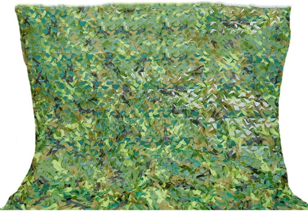 ガーデンシェードネット ジャングル迷彩ネット防空迷彩ネット山緑化暗号化セキュリティネットワークシェード日焼け止めカバー三層肥厚 ギラン HH (Size : 5X10m)  5X10m