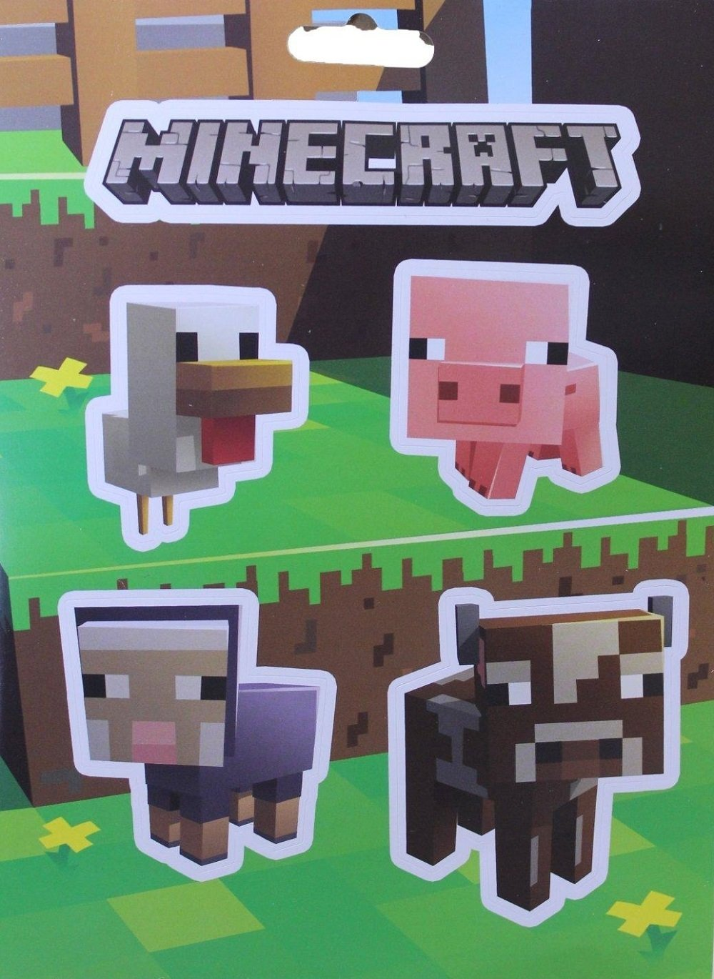 mojang Jinx Minecraft Sticker 12 piezas obsequios: Amazon.es ...