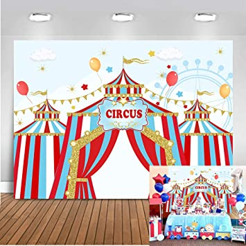 Carnival Decor Carnival Banner Red /& White Circus Party Carnival Theme Carnival Party 1st Birthday Carnival Birthday Circus Birthday
