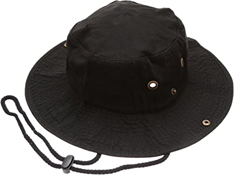 Jyuesi Hunterr X Hunterr Unisex Bucket Hat Summer Outdoor Bucket Beach Sun Hat Cotton Anime Printed Fisherman Packable Hat Black