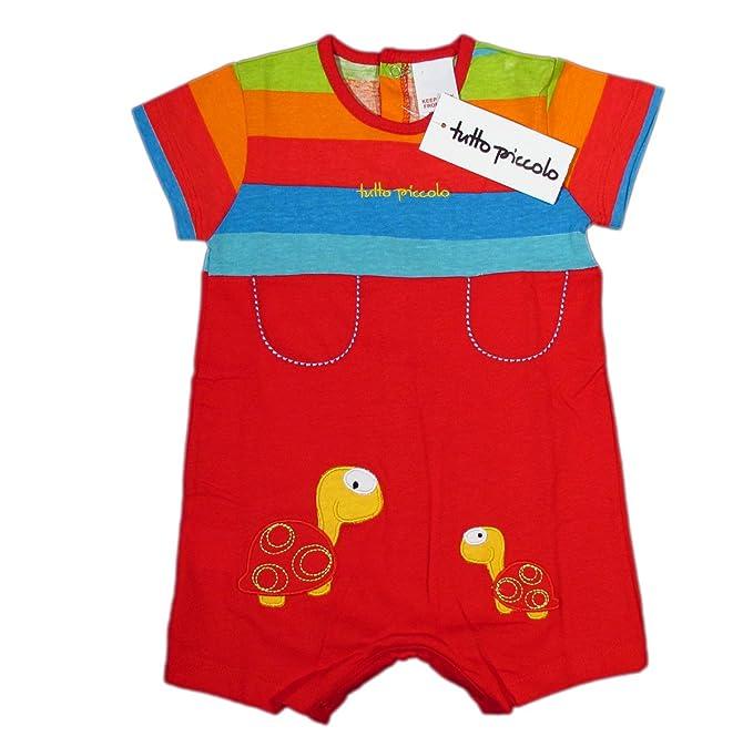 TUTTO PICCOLO - Pelele - Rayas - para bebé niño rojo 12 meses
