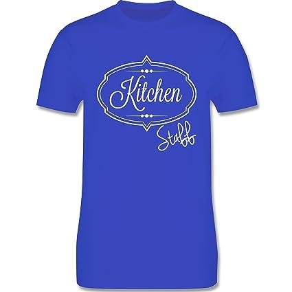 Küche - Kitchen Staff Küchenhelfer - Herren T-Shirt Rundhals: Shirtracer:  Amazon.de: Bekleidung