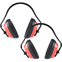 Neiko 53925A Adjustable Safety Ear Muffs | ANSI S3.19-1974 Approved, NRR 26 dB | 2 Pack