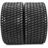 2Pcs New 4PLY 24x12.00-12 Tires 24x12x12 P332 Turf Lawn Mower Tires