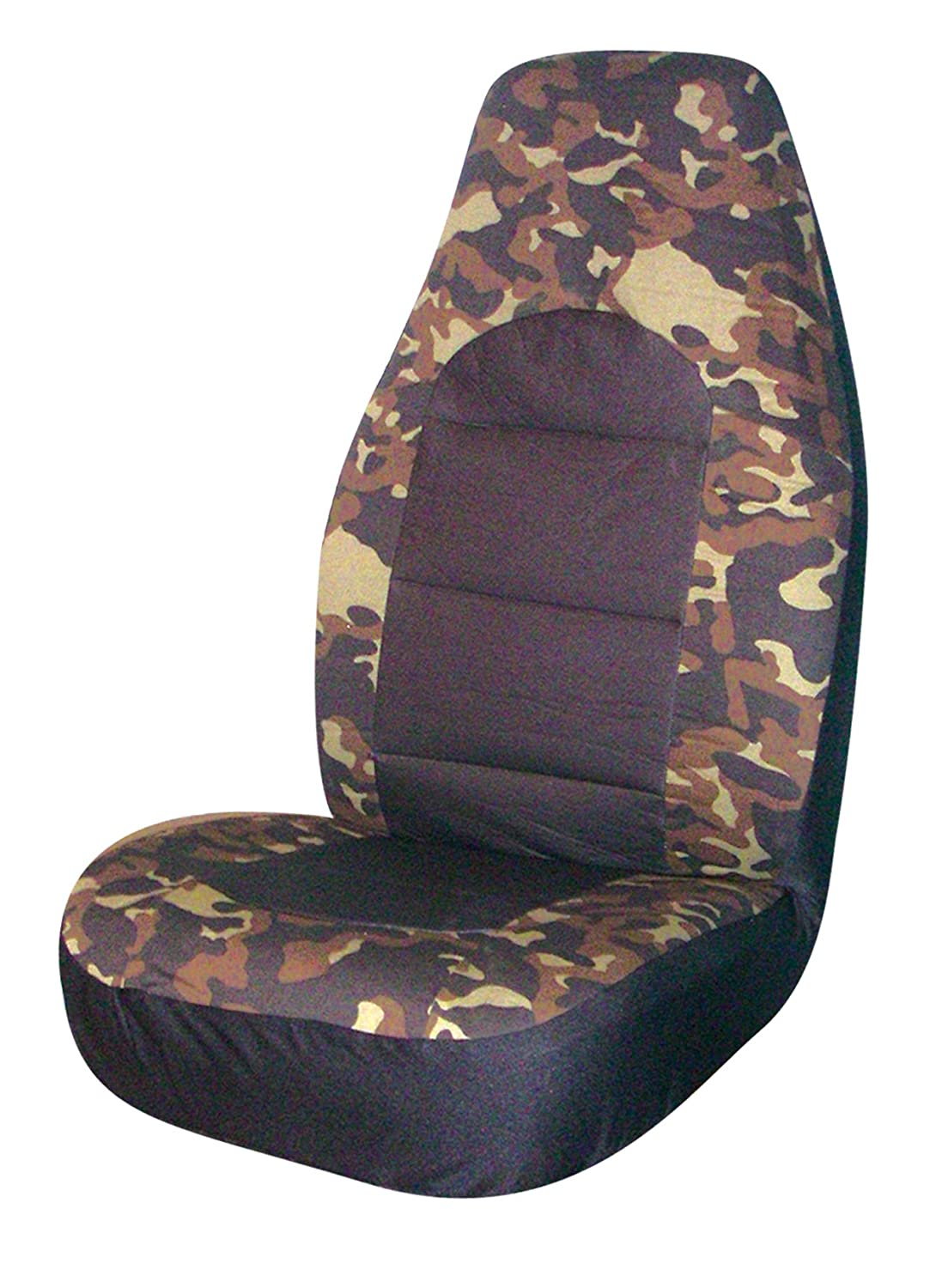 Pack of 2 Allison Corporation Allison 67-3316 Camouflage Universal Bucket Seat Cover