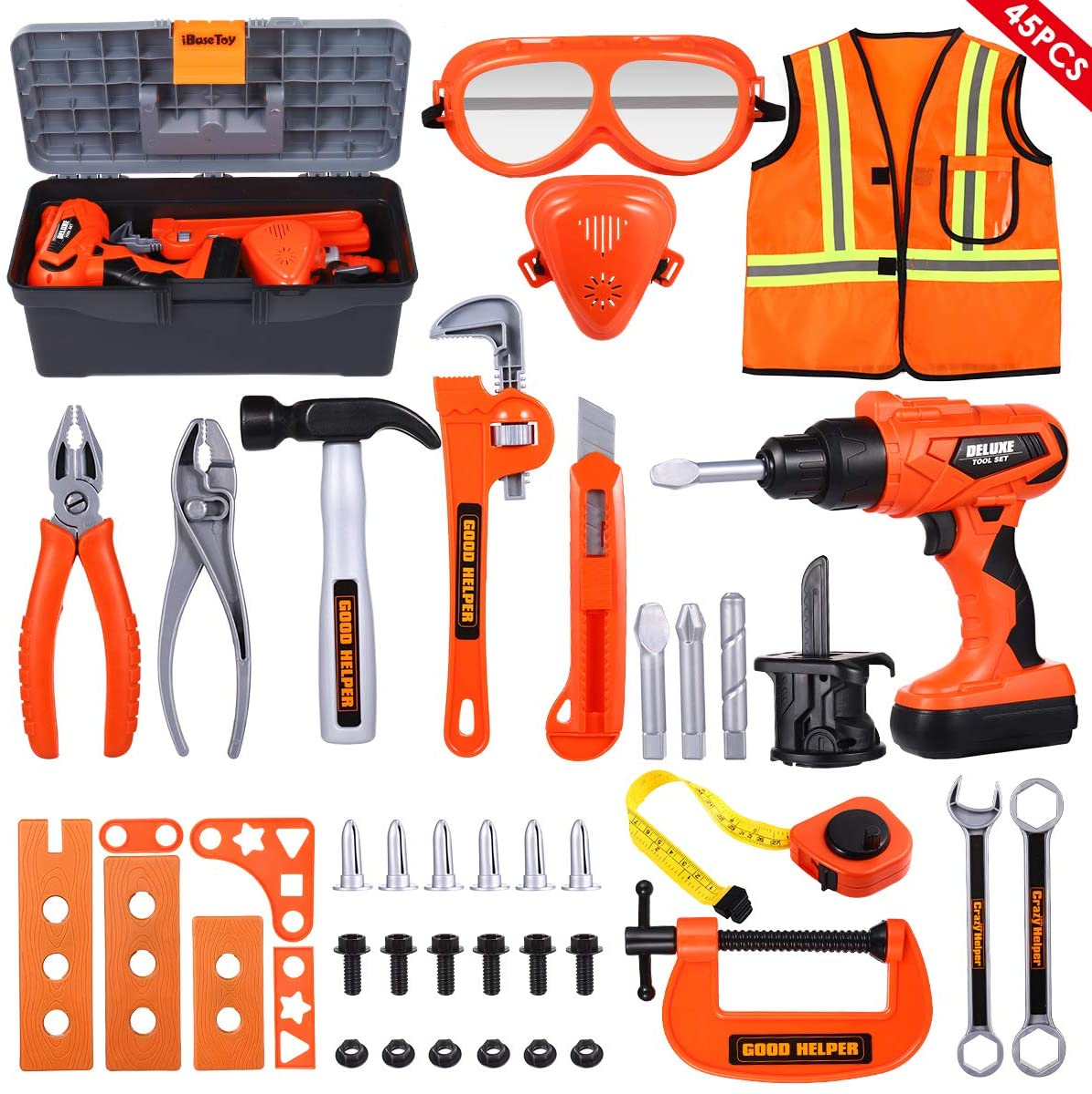 Kids Construction Tool Play Set