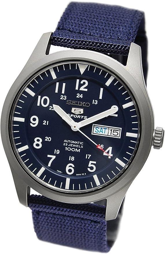 セイコー SEIKO セイコー5 スポーツ 5 SPORTS 自動巻き 腕時計 SNZG11K1 [並行輸入品]