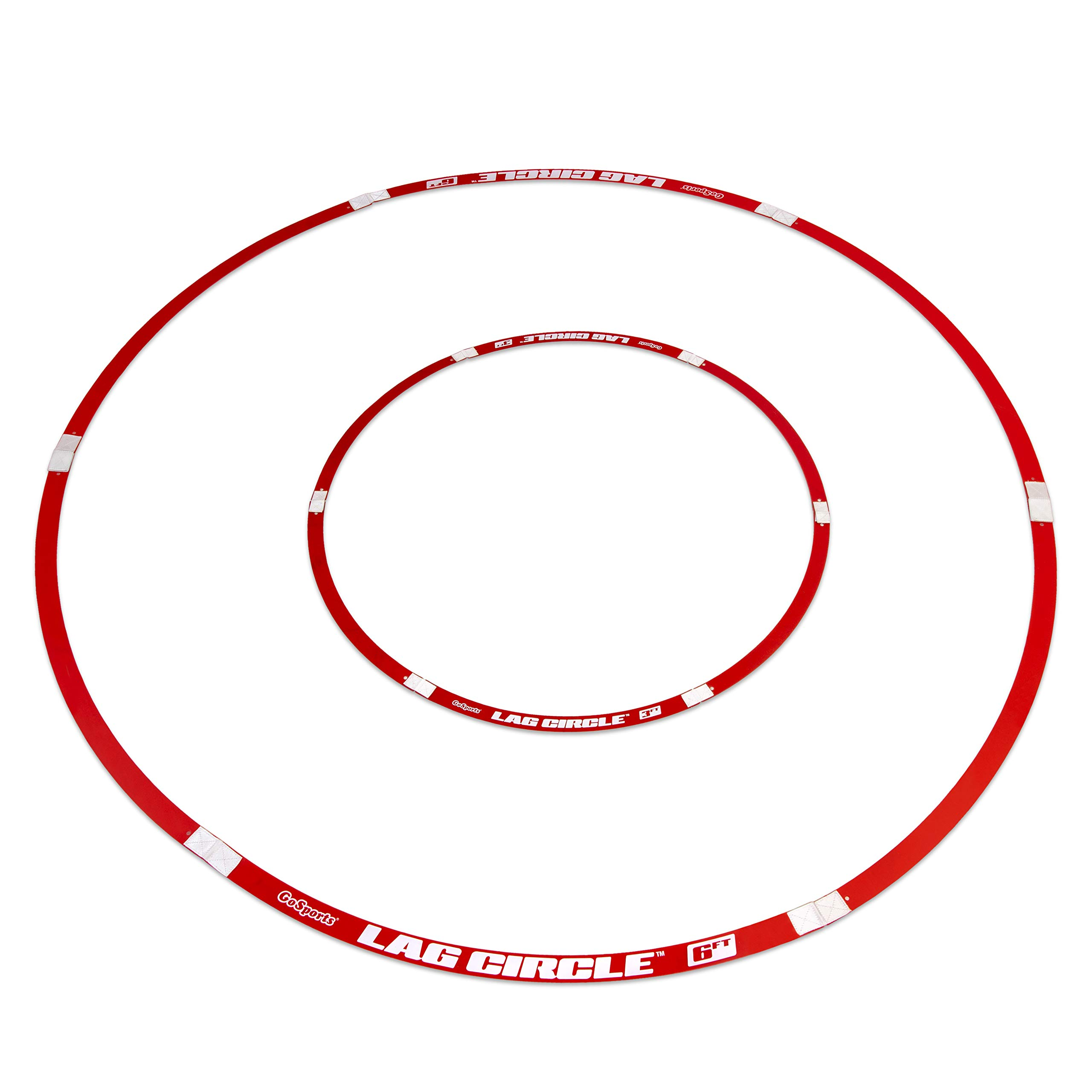 GoSports LAG Circle Putting and Chipping Training Tool - Includes 6' and 3' Circles by GoSports
