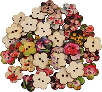 Lot of 100  Mixed Sewing Buttons Sewing Crafts and Scrapbooking Vintage and New