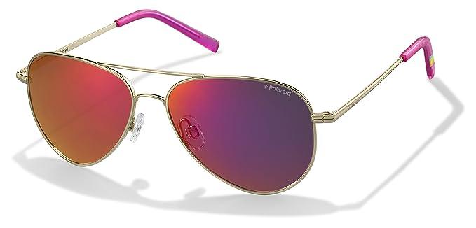 7e904e348 Image Unavailable. Image not available for. Colour: Polaroid Sunglasses  Women's Pld6012n Polarized Aviator ...