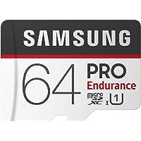Samsung Micro SDXC 64GB Pro Endurance/W Adapter, UHS-1 SDR104