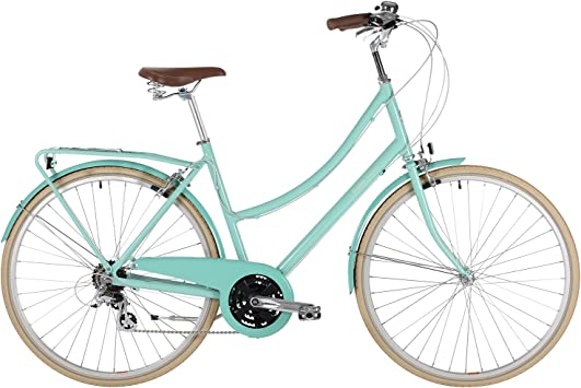 BOBBIN Brownie Luxe Bicicleta Urbana, Mujer, Turquesa (st Ives ...