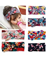 ZHW Baby Girl's Multi Colour Flower Hair Bow Baby Headbands