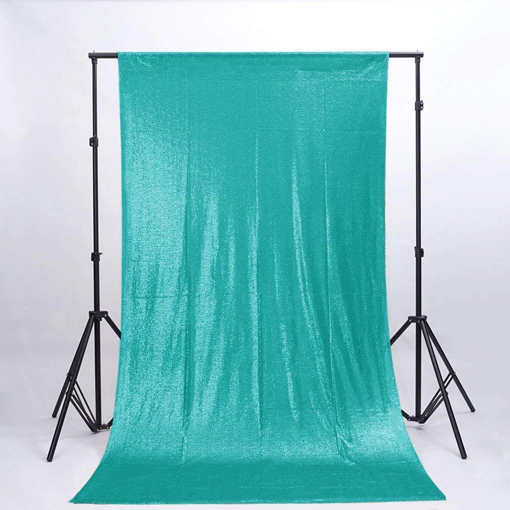 ShinyBeauty スパンコールカーテン 背景幕 FTx7フィート スパンコール写真背景幕 すぐに出荷 10FTx10FT Sequin CURTAIN-Backdrop Mint Green 10x10 10FTx10FT ミントグリーン B07GCHSQHY