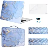 MOSISO Compatible with MacBook Air 13 inch Case 2020 2019 2018 Release A2337 M1 A2179 A1932 Retina,Plastic Watercolor…