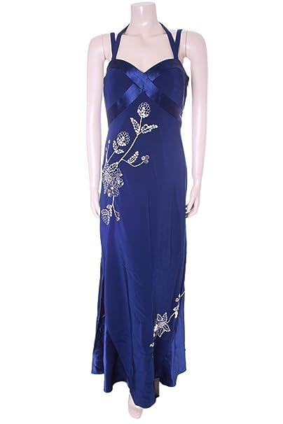 NUEVO Azul marino Pearce Fionda de vestido de fiesta tamaño 12 EU 40 US 8 bola