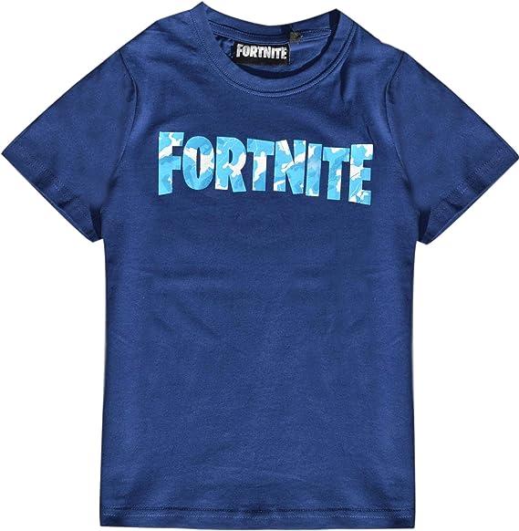 FORTNITE - Camiseta para niño 140 152 164 176 10 12 14 16 años azul oscuro: Amazon.es: Ropa y accesorios