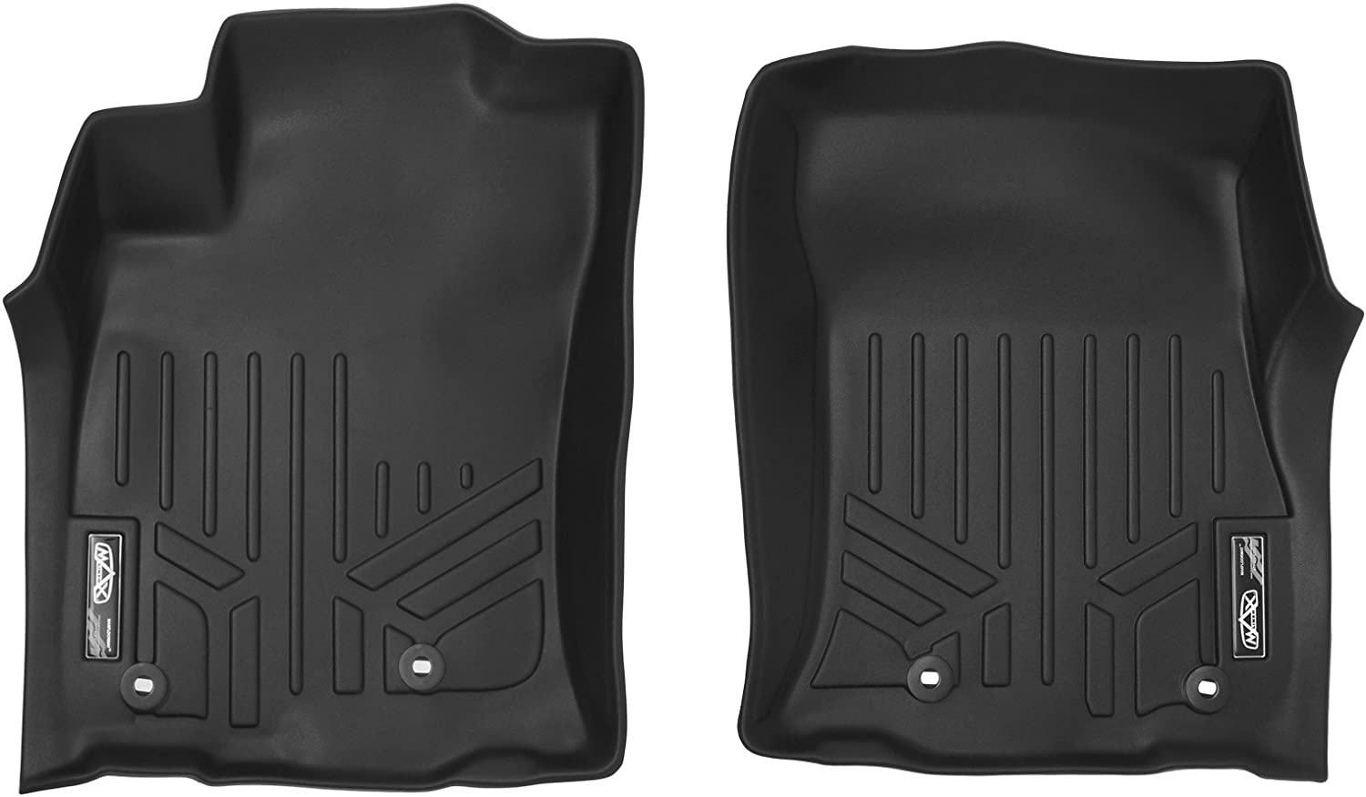 Coverking Custom Fit Front and Rear Floor Mats for Select Honda Accord Models CFMBX1HD9208 Nylon Carpet Black