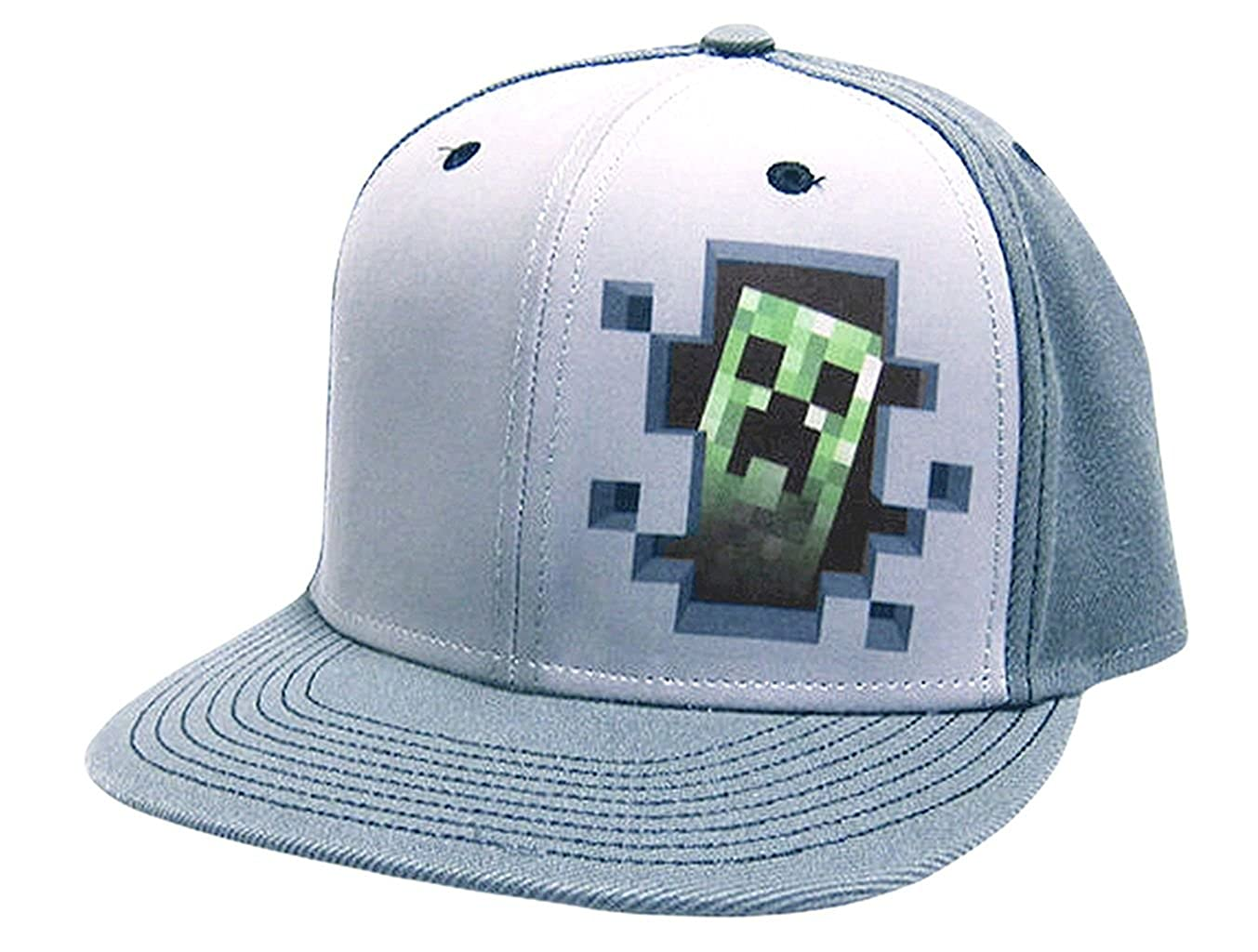 Minecraft Basecap Creeper Hole