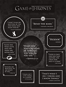Dark Horse Deluxe Game of Thrones: Quotes Magnets Set